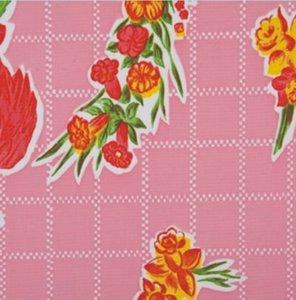 SALE Mexicaans tafelzeil rosendal roze 110x120cm