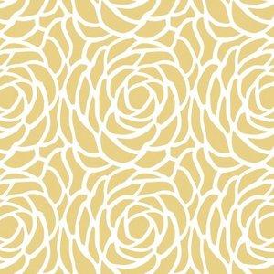 SALE tafelzeil Billy bloom geel 200x140cm
