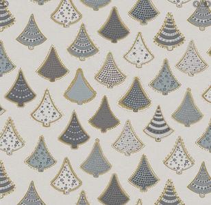 tafelzeil kerstboom grijs zilver