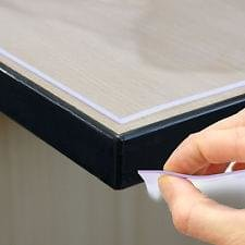 Tafelbeschermer 2mm dik transparant tafelzeil (120cm)