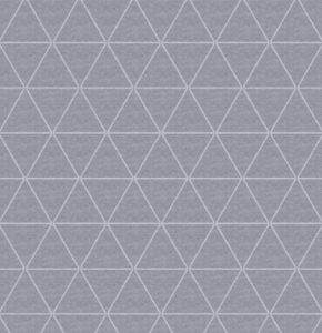 SALE wasbaar tafelzeil triangle grijs 105x140cm