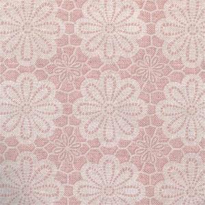 Tafelzeil vintage bloemen oud roze
