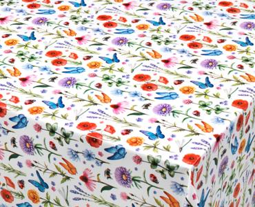 50x140cm Restje tafelzeil lentekriebels