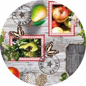 rond tafelzeil hollands fruit