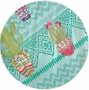 rond tafelzeil cactus