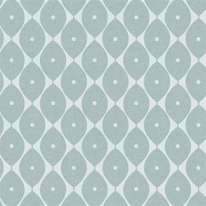 tafelzeil abstracte ovaaltjes blauw