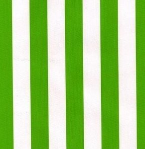 Rond Mexicaans tafelzeil strepen groen (120cm)