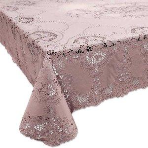 tafelkleed buiten oud roze vinyl