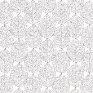 tafelzeil grijs bladeren