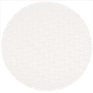 tafelkleed schuim vinyl pvc gebroken wit