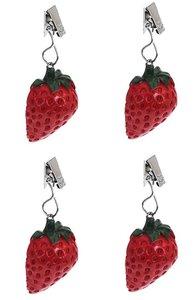 tafelkleedgewichtjes aardbeien