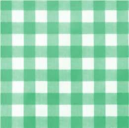 Tafelzeil grote ruit groen