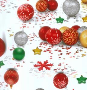 Tafelzeil Kerstbal Ornament Hiptafelzeil