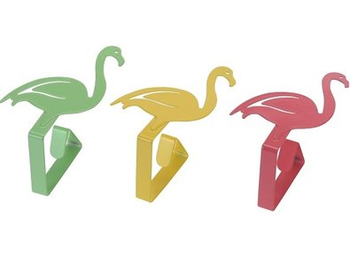 tafelkleedklemmen flamingo