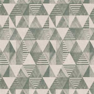 Tafelzeil vintage style groen