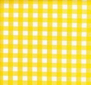 Mexicaans tafelzeil ruitjes geel