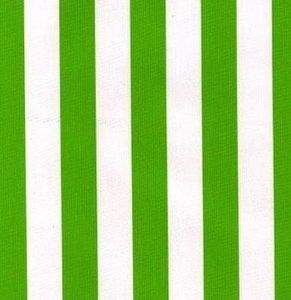Ovaal Mexicaans tafelzeil strepen groen
