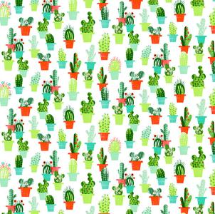 tafelzeil cactus en bloemen